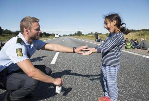 refugee policeofficer denmark